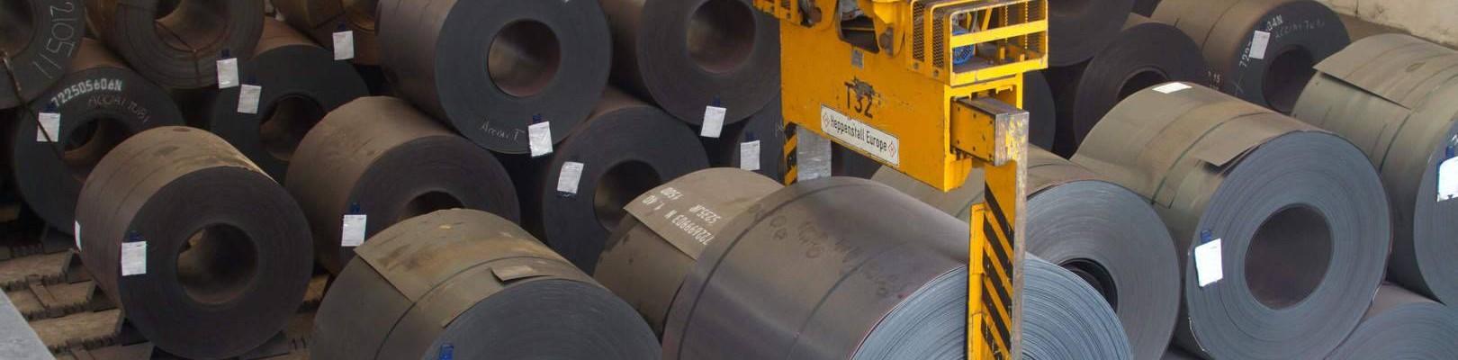 Coils at the Acciaitubi production facility