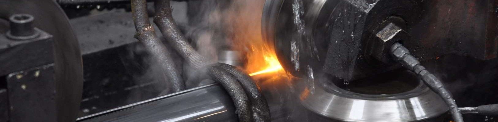 Forming of steel tubes at Acciaitubi