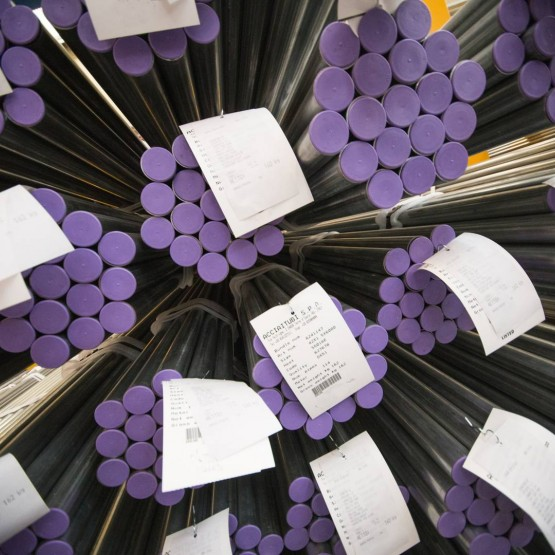Production of steel tubes