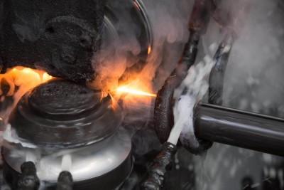 Steel tube processing